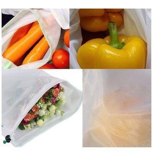 bekith Kitchen - Set of 3 Reusable Produce Bags